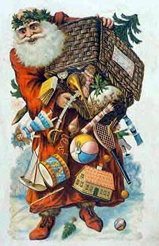 Дед Мороз - воплощение древнейшего архетипа. Так видели своего Папашу Рождество британцы викторианского периода. Mary Evans Picture Library