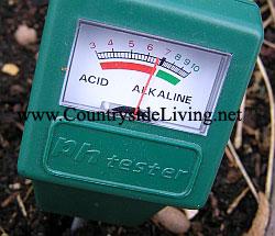 Прибор для тестирования кислотности почвы (pH тестер)